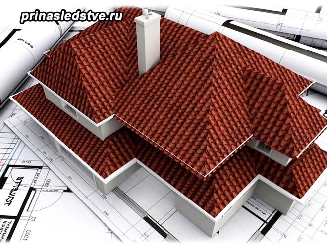 Игрушечный домик и план дома