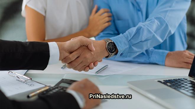 Заключение деловой сделки