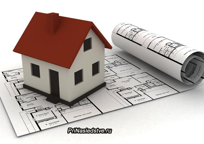 План будущего дома