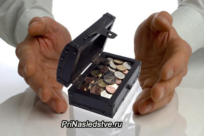 Коробочка с монетами