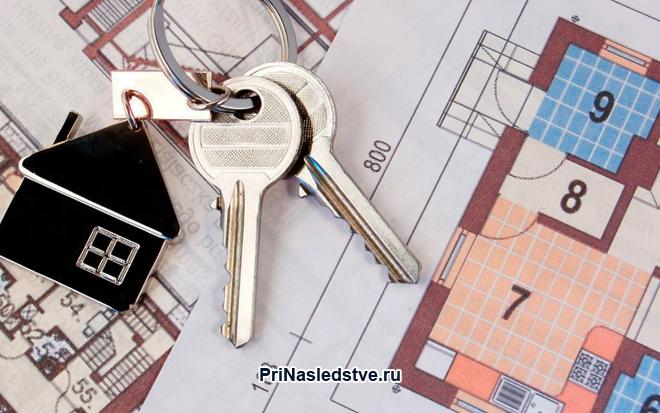 Ключи от квартиры, план квартиры