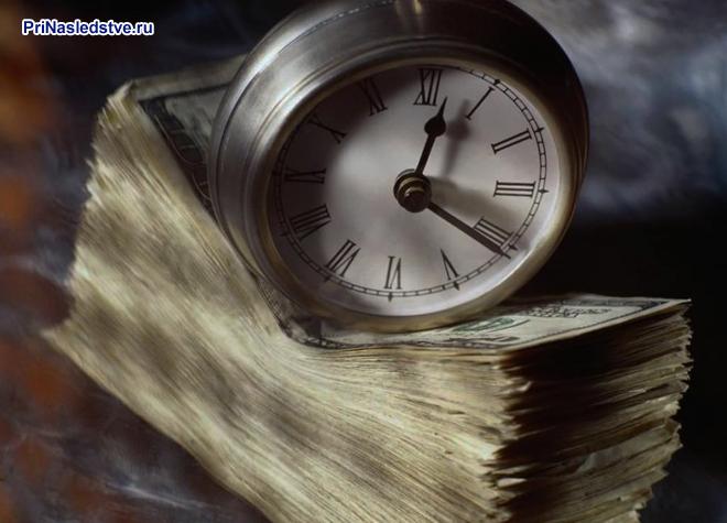 Часы, деньги