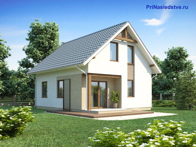 Дачный домик и земельный участок