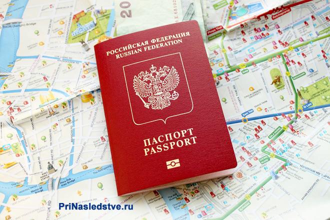 Паспорт и карта местности